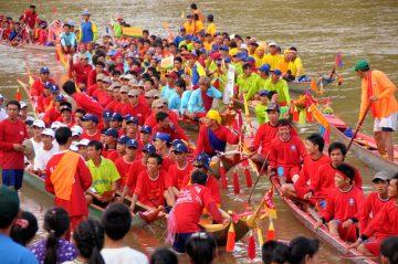 Luang Prabang Boat Racing Festival 2019